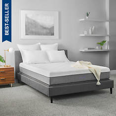 Solace Sleep 10'' Quilted Memory Foam Mattress