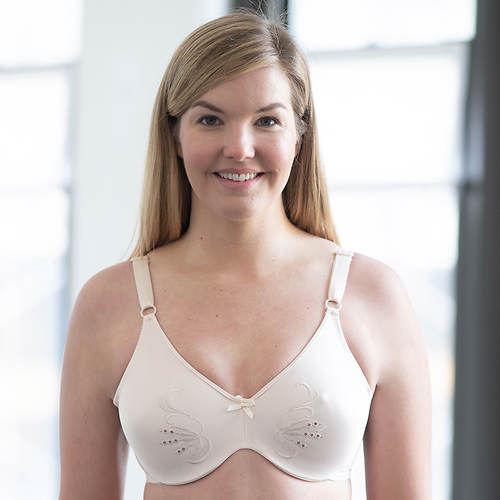 Cortland Intimates Full-Figure Seamless Minimizer Wire Bra