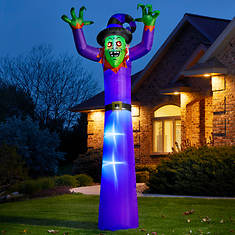 12' Witch with Flashing Eyes