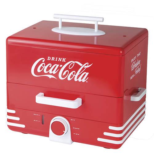 Nostalgia Electrics Large Coca-Cola®Hot Dog Steamer