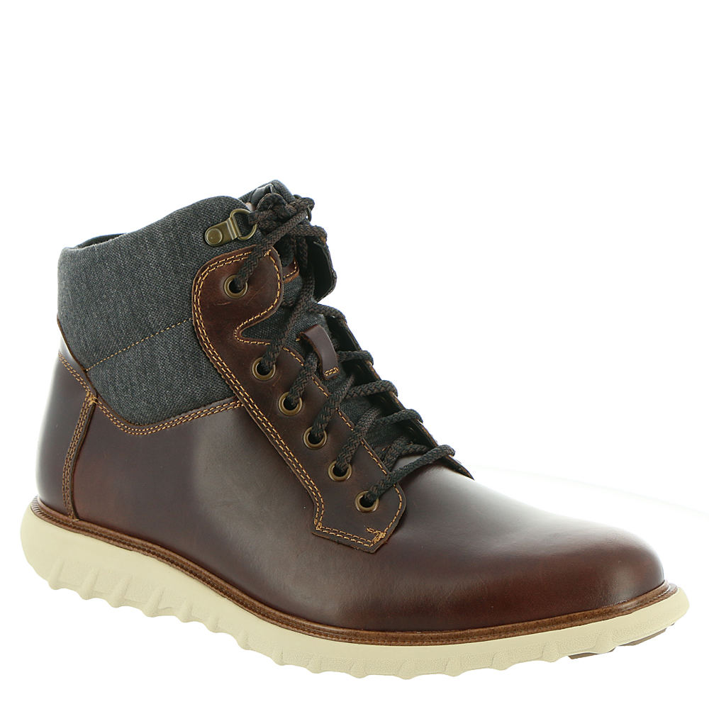 *Water- and stain-resistant leather upper with fabric accenting *Lace-up closure *Lightly cushioned footbed treated with antimicrobial technology to fight odors *Durable textured outsole