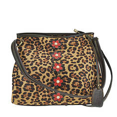 Spring Step HB-Leopard Bucket Bag