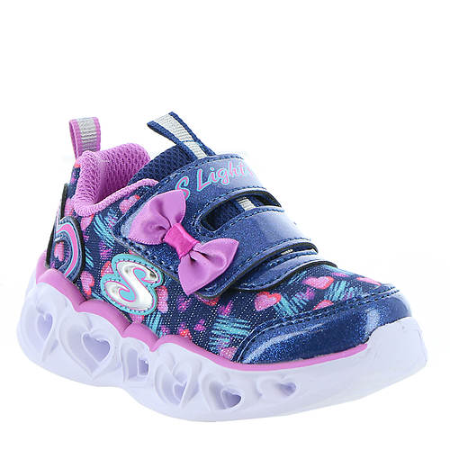 Skechers Heart Lights-Color Me Hearts 20264N (Girls' Infant-Toddler)