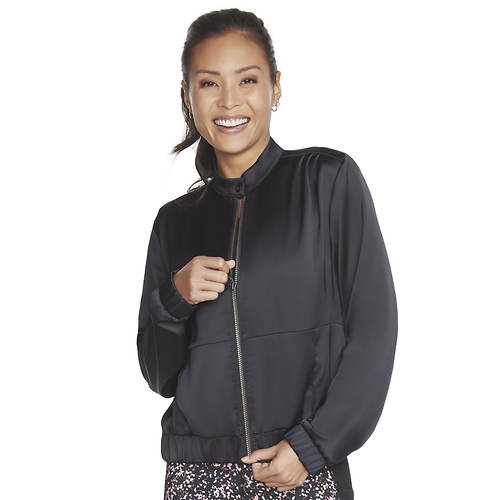 Skechers Women's Shine Time Bomber Jacket