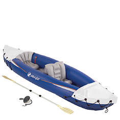 Coleman 2 Person Kayak with Pump and  Oars