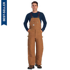 Carhartt Men's Quilt-Lined Bib Overalls