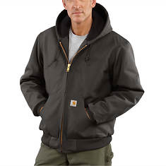 Carhartt Men's Quilted-Flannel Lined Duck Active Jacket