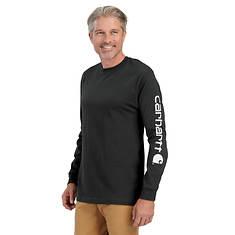 Carhartt Men's Signature Sleeve Logo Long Sleeve T-Shirt