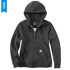Carhartt Women's Clarksburg 1/2 Zip Hooded Sweatshirt