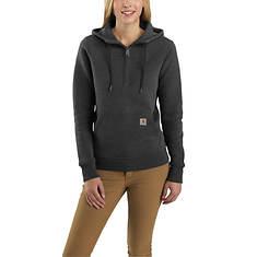 Carhartt Women's Clarksburg 1/2 Zip Hooded Sweatshirt