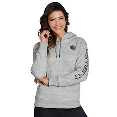 Carhartt Women's Clarksburg Sleeve Logo Hooded Sweatshirt