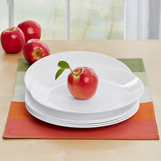 Corelle 6-Piece Winter Frost Dinner Plate Set