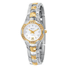 RELIC By Fossil Women's 2-Tone Crystal Accent Watch
