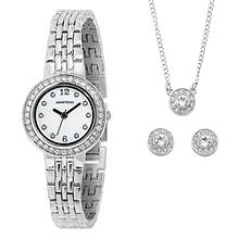 Armitron Women's Watch, Necklance & Earrings