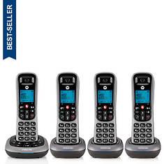 Motorola Cordless Answering System Base and 4 Handsets