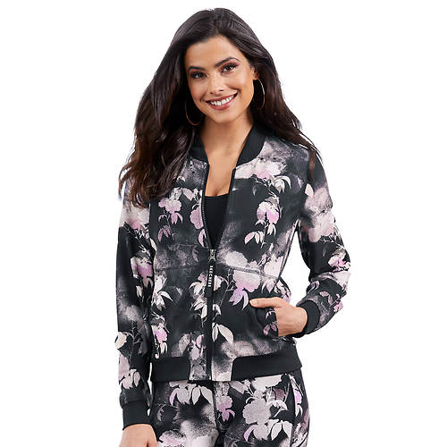 Skechers Ink Floral-Printed Jacket