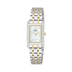 Citizen Ladies' 19mm Two-Tone Stainless Steel Watch