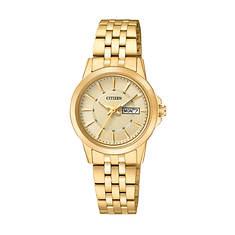 Citizen Ladies' 28mm Gold Stainless Steel Watch