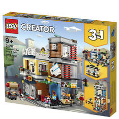 LEGO®-969pcs Creator Townhouse Pet Shop and Cafe--31097