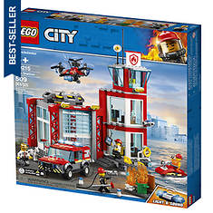 LEGO® City Fire Station 509-Pc. Building Set -- 60215