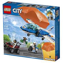 LEGO® 218pcs City Sky Parachute Arrest--60208
