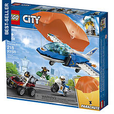LEGO® 218pcs City Sky Parachute Arrest--60208