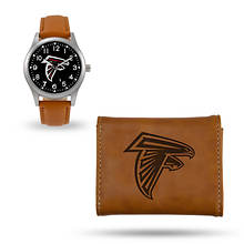 NFL Watch & Wallet Set-Brown