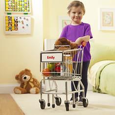 Melissa & Doug Personalized Shopping Cart - Opened Item