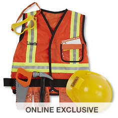 Melissa & Doug Personalized Construction Worker Costume
