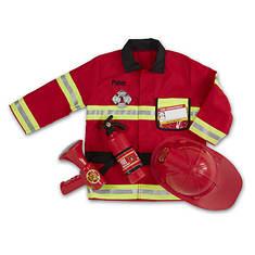Melissa & Doug Personalized Fire Chief Costume Set
