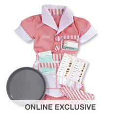 Melissa & Doug Personalized Waitress Role Play Costume Set