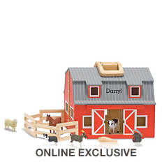 Melissa & Doug Personalized Fold & Go Barn