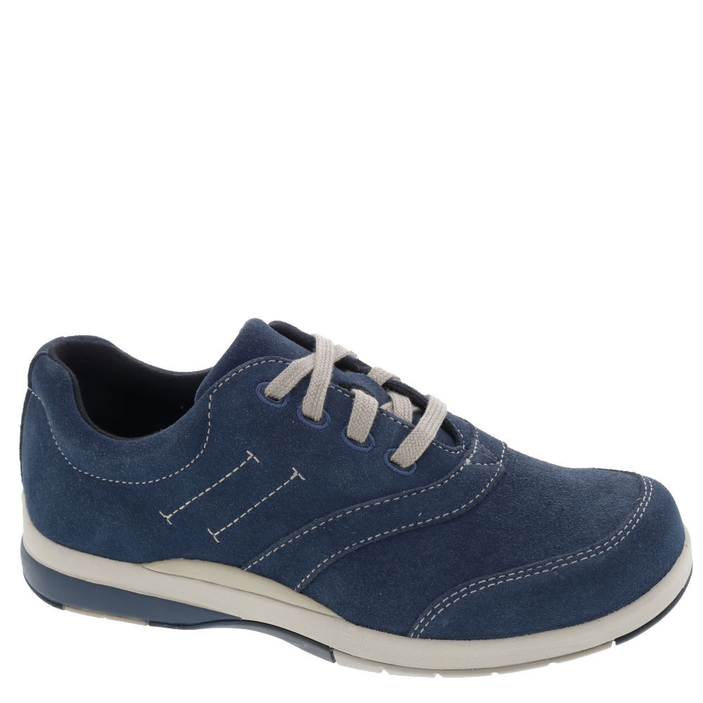 *This stylish oxford is designed to offer you the comfort an support you need *Suede leather upper *Lace-up closure *Drilex® lining *Removable soft synthetic footbed with metatarsal pad *EVA midsole *Tempered steel shank for added support *Lightweight rubber outsole