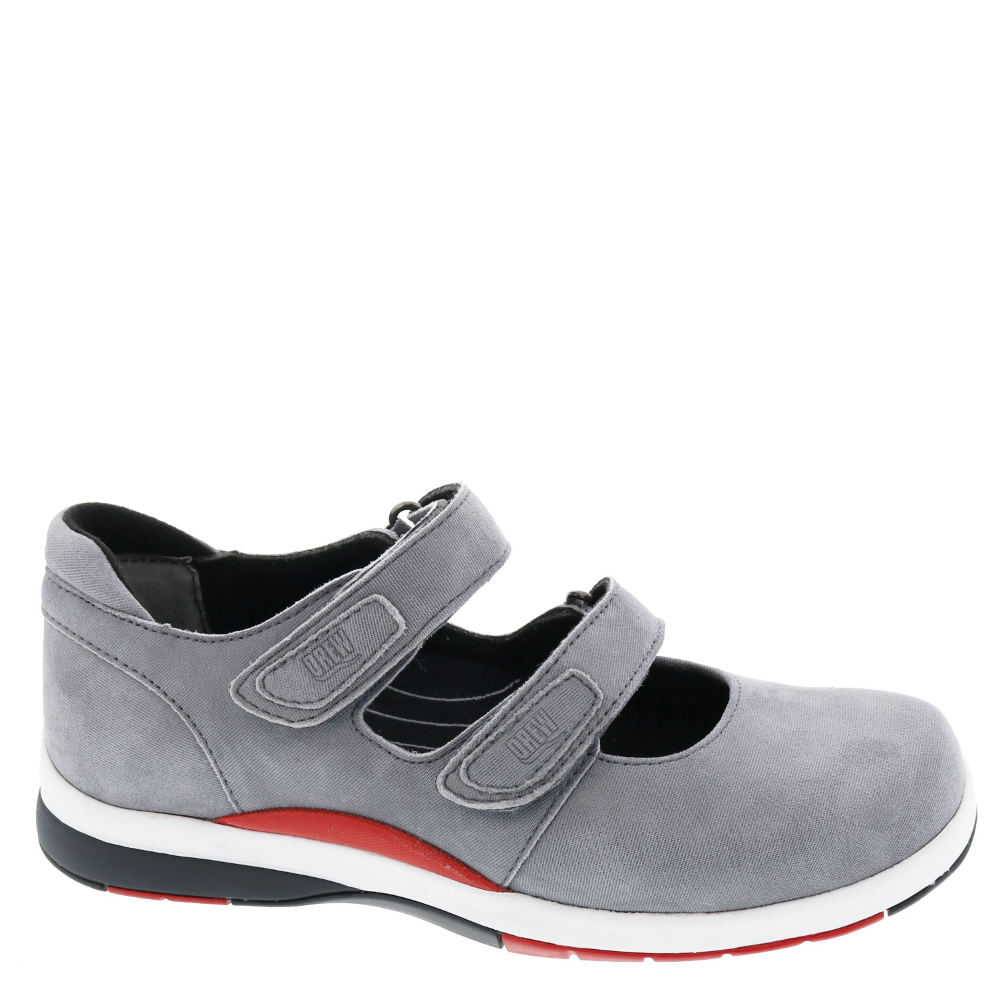 *Add a sporty edge to your favorite day look with this classic shoe *Leather upper *Dual adjustable hook-and-loop closure *Drilex® lining *Removable soft synthetic footbed with metatarsal pad *EVA midsole for added cushion *Tempered steel shank for added support *Flexible lightweight rubber outsole *1-1/4\\\