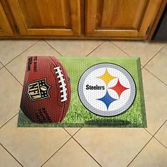 NFL Ball Scraper Mat