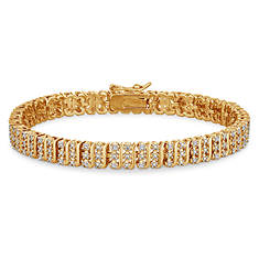 1/5 ct. tw. Diamond Tennis Bracelet-8