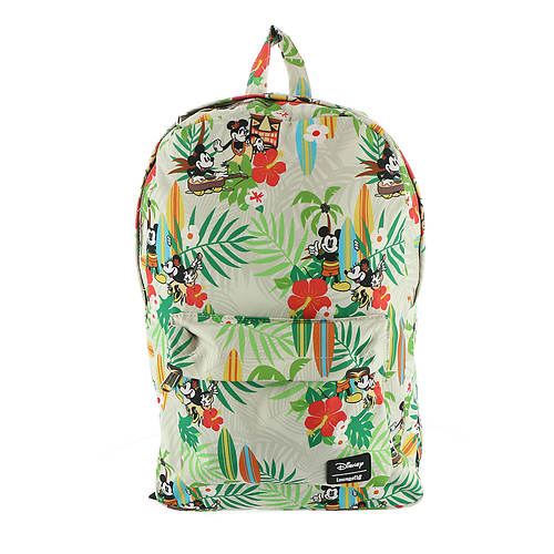 Loungefly Disney Mickey Minnie Hawaiian Backpack