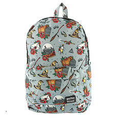 Loungefly Harry Potter Relics Tattoo Backpack