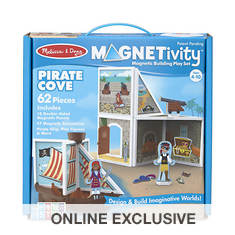 Melissa & Doug Magnetivity - Pirate Ship and Cove