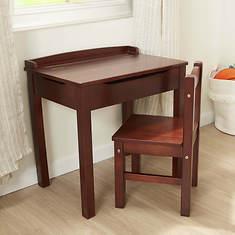 Melissa & Doug Wooden Lift-Top Desk & Chair