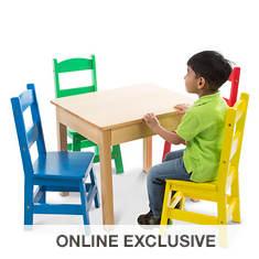 Melissa & Doug Table and Chairs (set of 4)