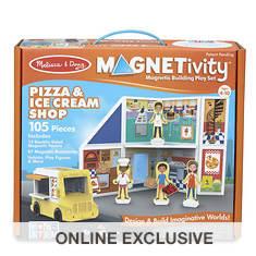 Melissa & Doug Magnetivity- Pizza & Ice Cream Shop