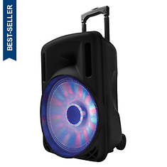 "SuperSonic 12"" Portable Bluetooth DJ Speaker"