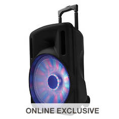 "SuperSonic 12"" Portable Bluetooth DJ Speaker"
