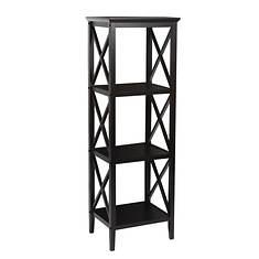 X-Frame 4-Shelf Storage Tower