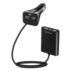 Road Runner 8.2A 4 USB Car Charger