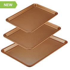 Ayesha Curry 3-Piece Nonstick Cookie Pan Set