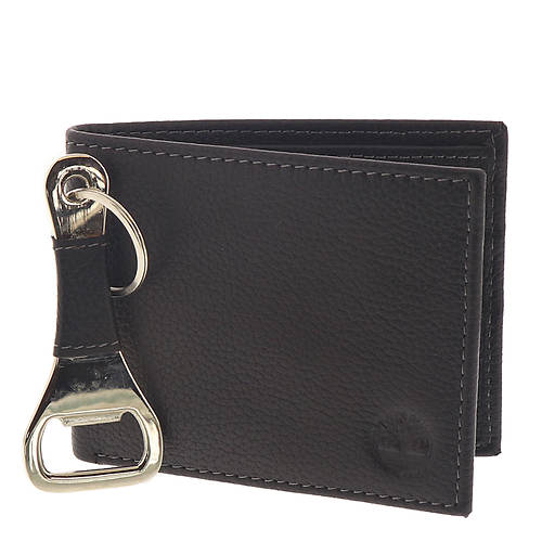 Timberland Men's Billfold & Bottle Opener Set
