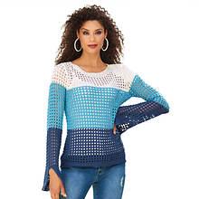 Eyehole Knit Sweater