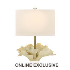 Catalina Lighting 29.5'' Sculptured Coral Table Lamp